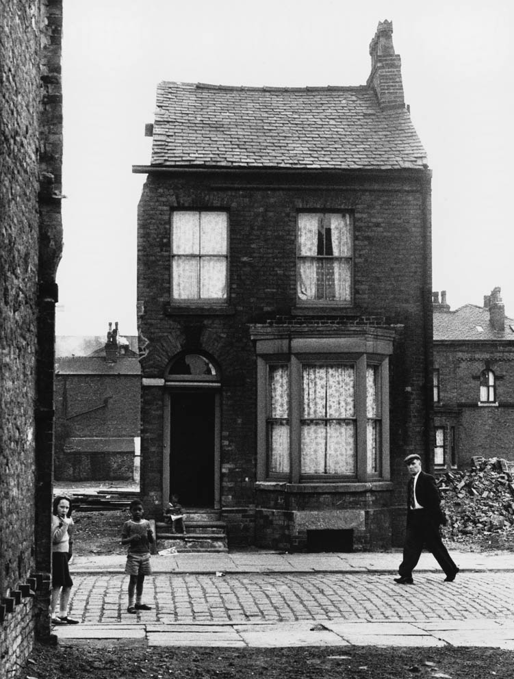 Lone terraced house Moss Side - Manchester