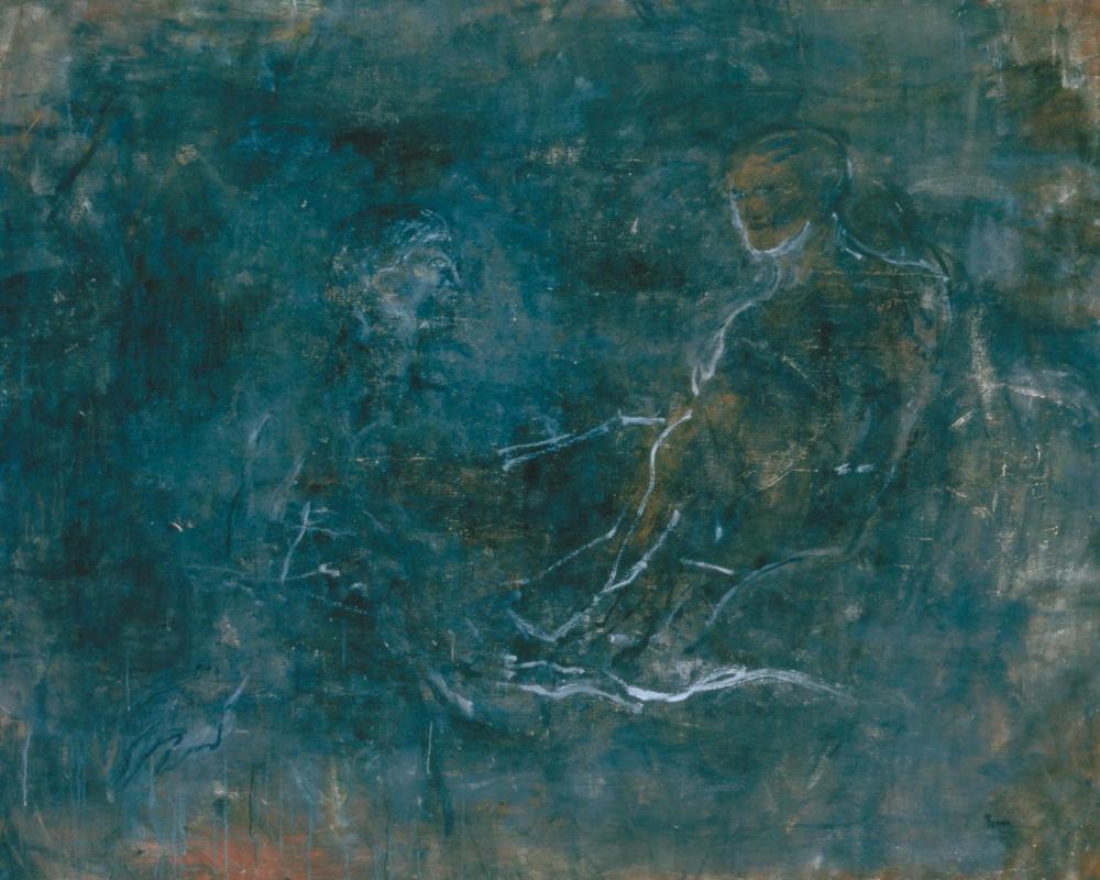 Lovers 1962 by Nancy Spero 1926-2009